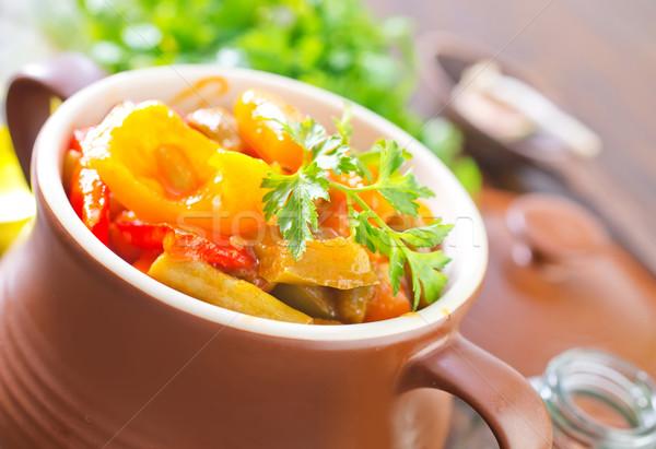 Legume bucătărie salată tomate gătit Imagine de stoc © tycoon
