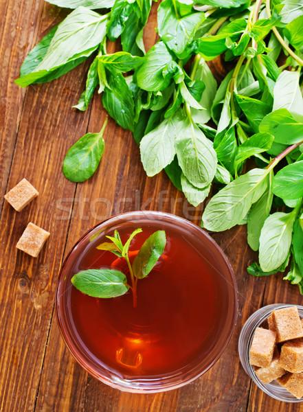 mint tea Stock photo © tycoon