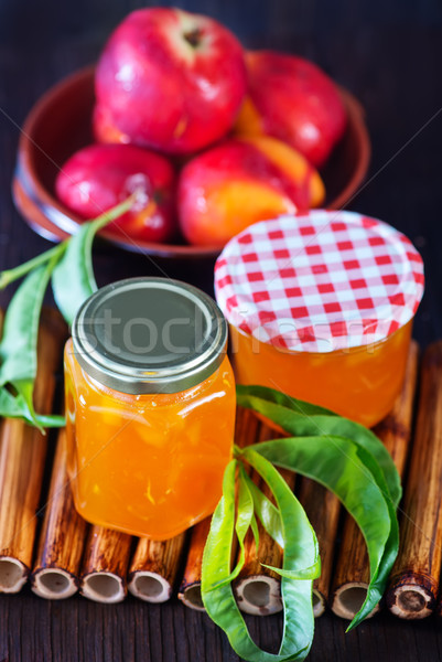 peach jam Stock photo © tycoon