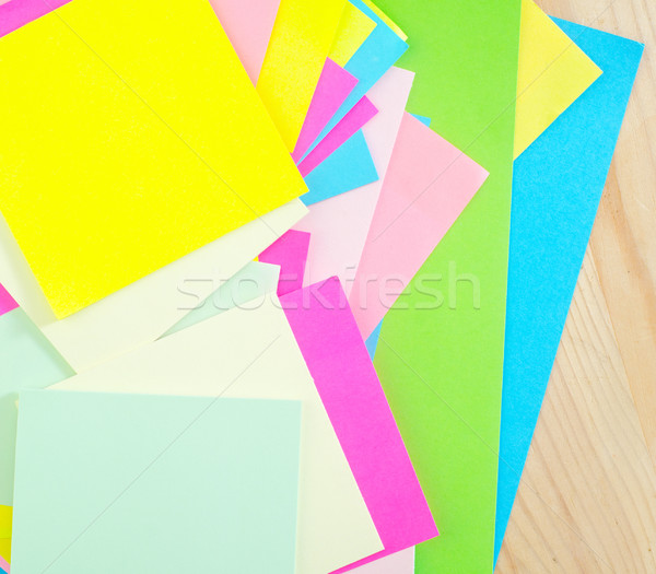 color sheets Stock photo © tycoon