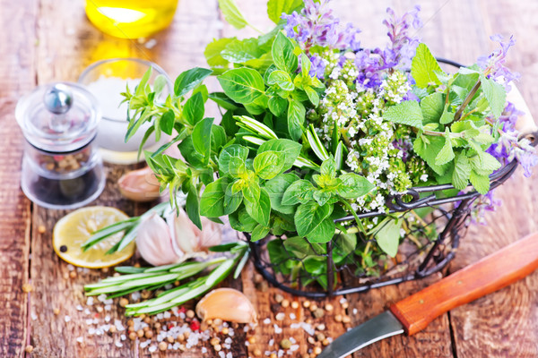 fresh herbal Stock photo © tycoon