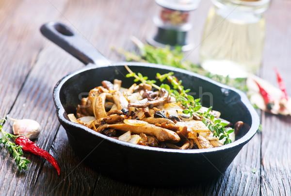 fried mushrooms Stock photo © tycoon