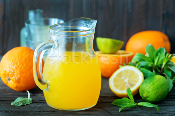 fresh juice Stock photo © tycoon