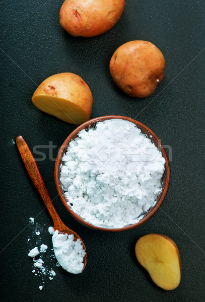 Stock photo: potato starch