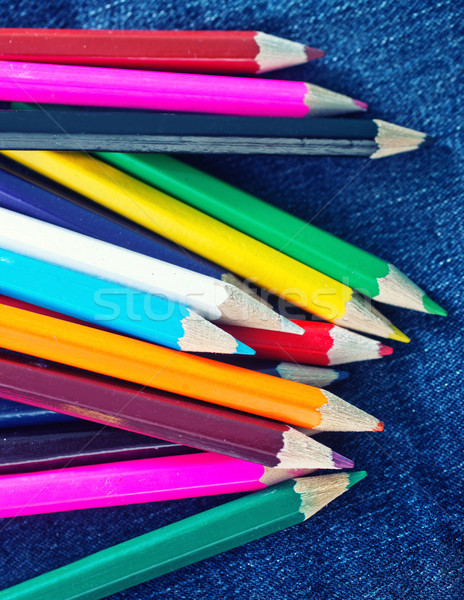 color pencils Stock photo © tycoon