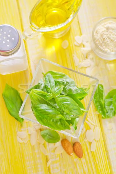 ingredients for pesto sauce Stock photo © tycoon
