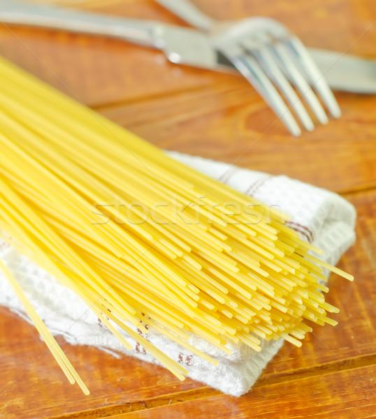Greggio spaghetti texture abstract natura ristorante Foto d'archivio © tycoon