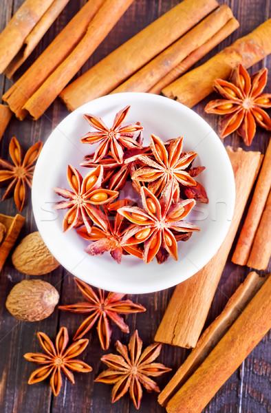Lezzet baharat gıda meyve sağlık yaz Stok fotoğraf © tycoon