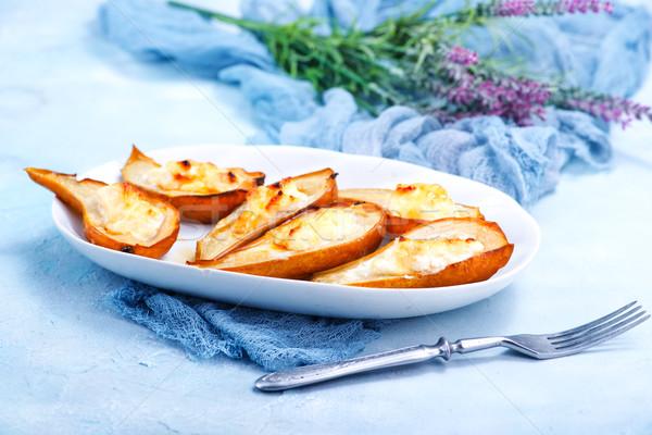 груши Sweet сыра фрукты кухне Сток-фото © tycoon