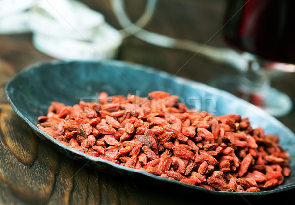 goji and drink Stock photo © tycoon