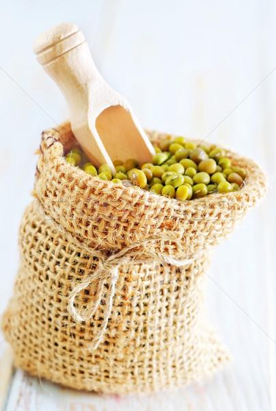 green mung Stock photo © tycoon