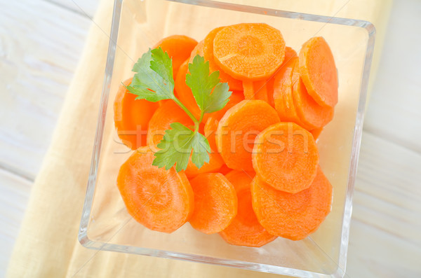 carrot Stock photo © tycoon