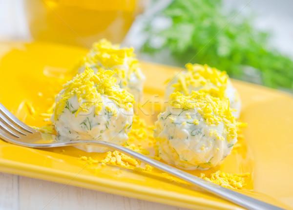 cheese balls Stock photo © tycoon