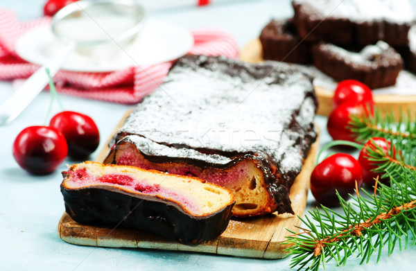 Christmas cake Stock photo © tycoon