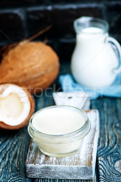 coconut ingredients Stock photo © tycoon