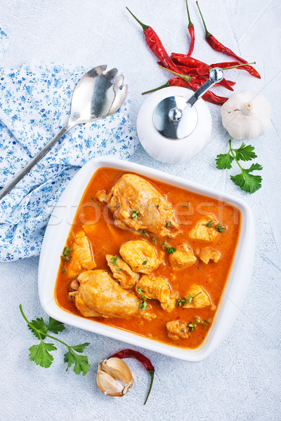 chicken curry Stock photo © tycoon