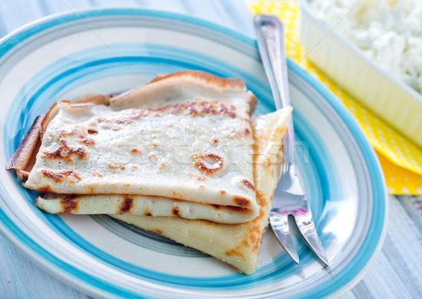 коттедж продовольствие торт ресторан сыра Сток-фото © tycoon