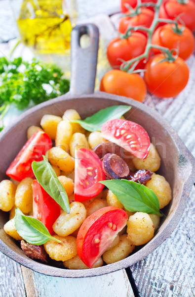fried gnocchi Stock photo © tycoon