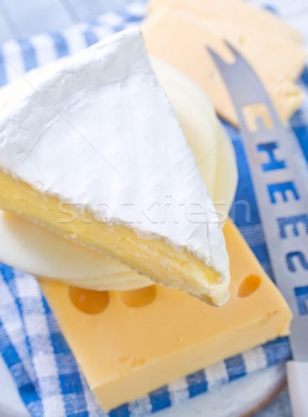 チーズ ボード 表 食品 青 料理 ストックフォト © tycoon