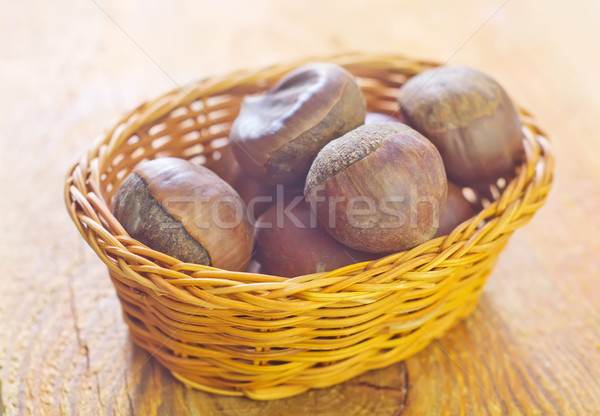 chestnuts Stock photo © tycoon
