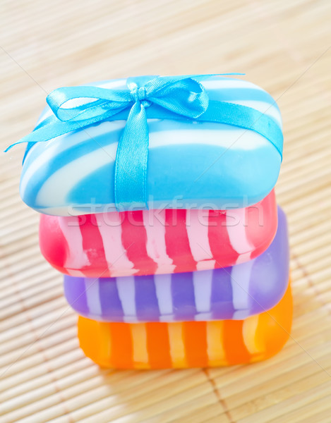 color soap Stock photo © tycoon