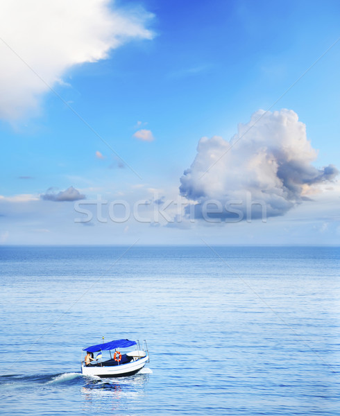 boat on the sea Stock photo © tycoon