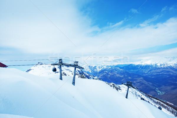 winter mountains Stock photo © tycoon
