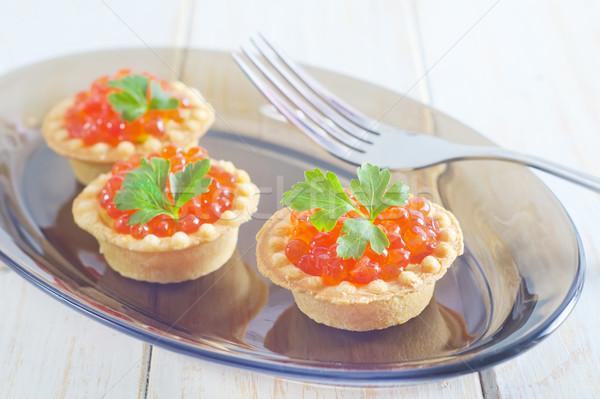 キャビア 魚 海 ケーキ オレンジ グループ ストックフォト © tycoon