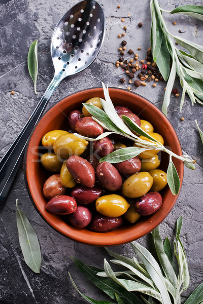 olives Stock photo © tycoon