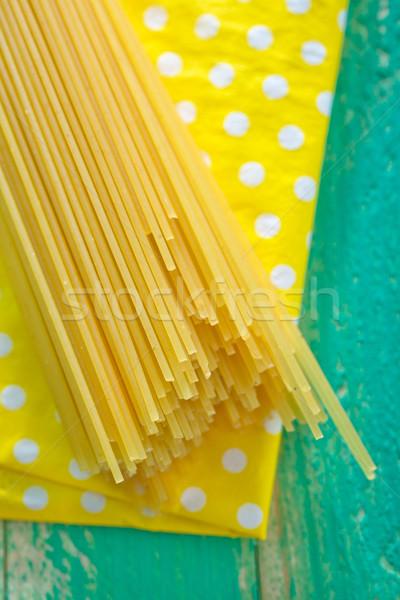продовольствие кухне ресторан пасты пластина совета Сток-фото © tycoon