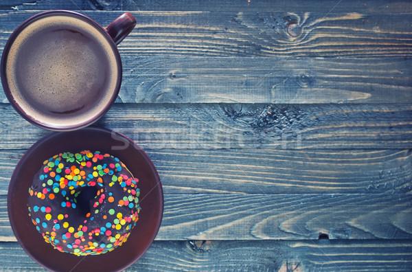 chocolate donuts Stock photo © tycoon