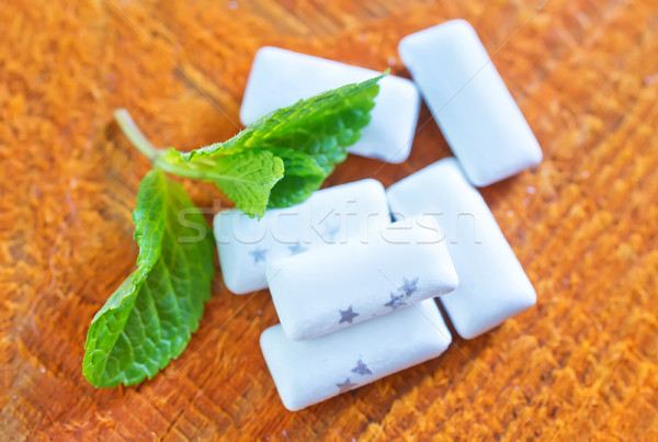 mint gum Stock photo © tycoon