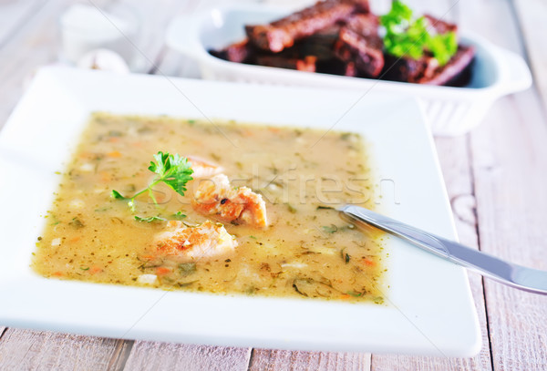 pea soup Stock photo © tycoon