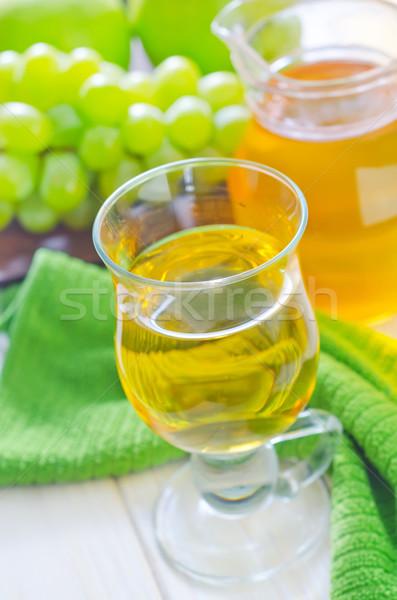 Fresco suco madeira maçã fruto cozinha Foto stock © tycoon
