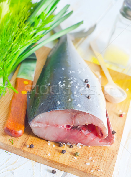 raw tuna Stock photo © tycoon