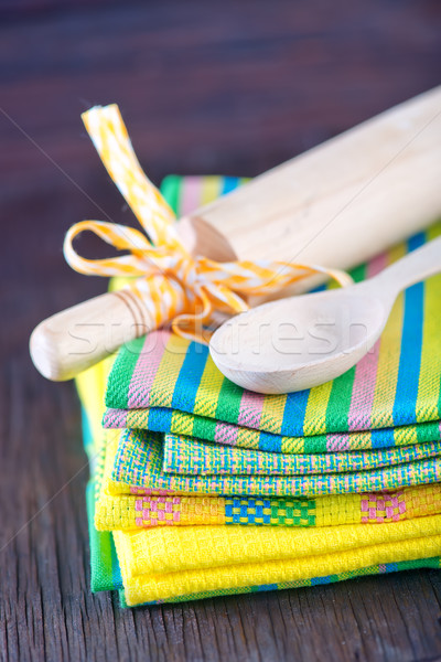 kitchen towels Stock photo © tycoon