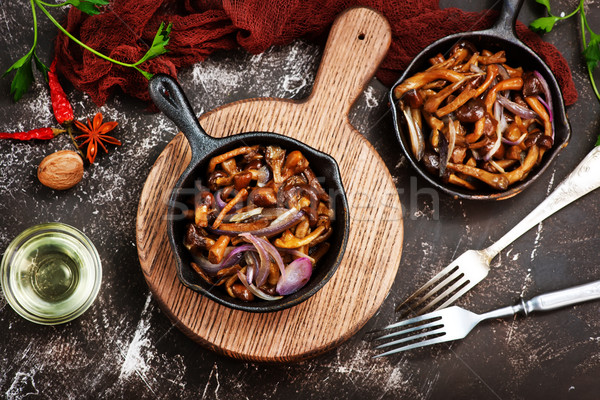 fried mushroom Stock photo © tycoon