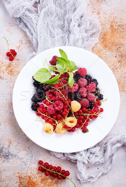 mix berries Stock photo © tycoon