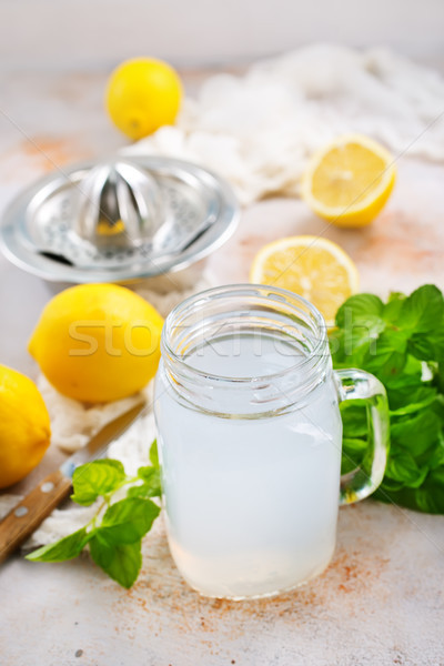 lemon juice Stock photo © tycoon