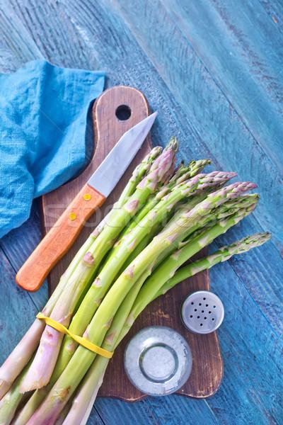 спаржа весны продовольствие Салат еды приготовления Сток-фото © tycoon