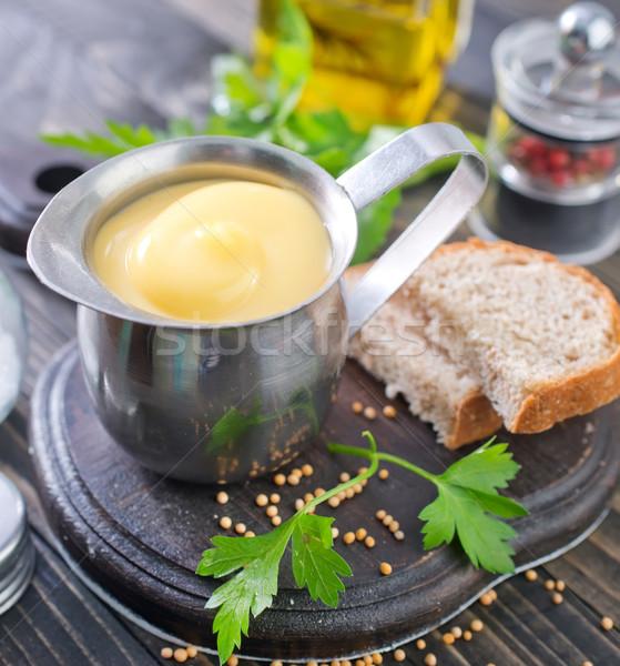 マヨネーズ ホーム 油 朝食 料理 調理 ストックフォト © tycoon