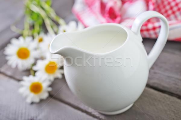 fresh milk Stock photo © tycoon