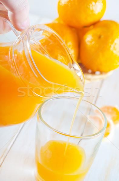 tangerine juice Stock photo © tycoon