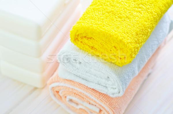 Masaj dinlenmek banyo cilt banyo temizlemek Stok fotoğraf © tycoon