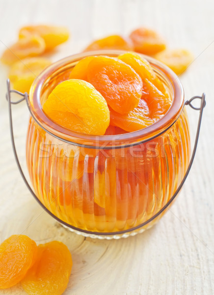 dry apricots Stock photo © tycoon