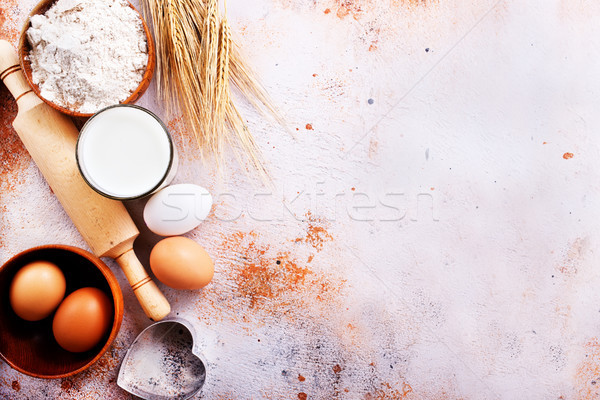 ingredients for baking Stock photo © tycoon