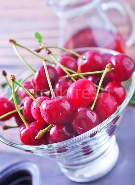 cherry Stock photo © tycoon