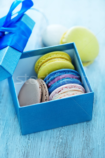 macaroons Stock photo © tycoon