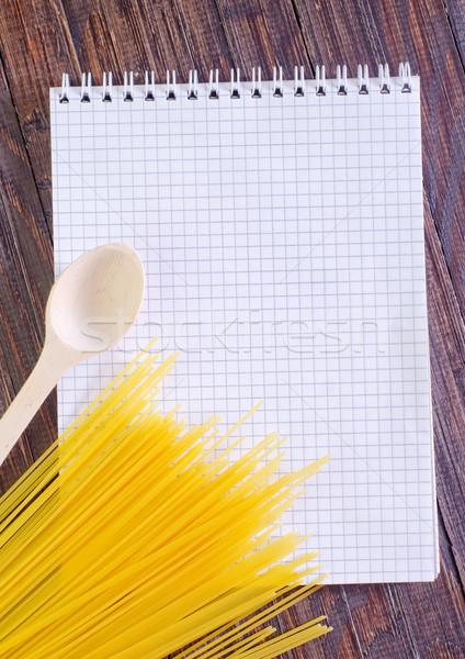 注記 レシピ 紙 食品 図書 フレーム ストックフォト © tycoon