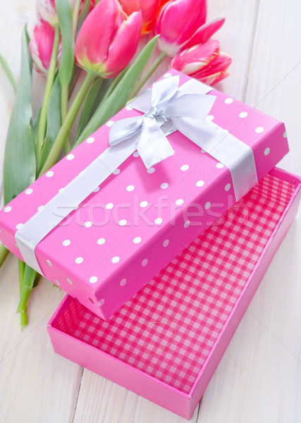 box for present Stock photo © tycoon